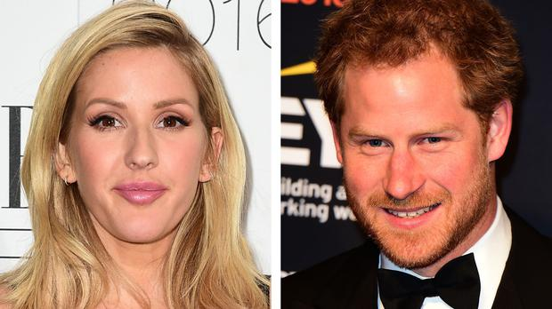 Ellie Goulding and Prince Harry, as rumours that they are dating have seen bookmakers publishing odds on him popping the question to the singer.