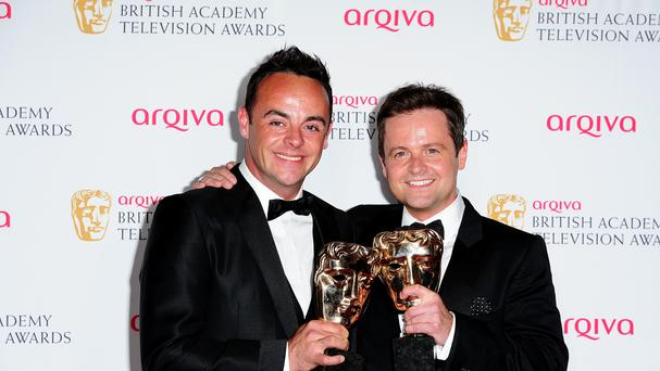 Anthony McPartlin and Declan Donnelly have been awarded OBEs