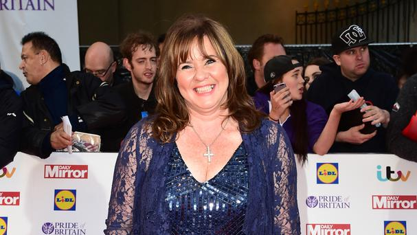 Coleen Nolan was presenting the show at the time of the interruption