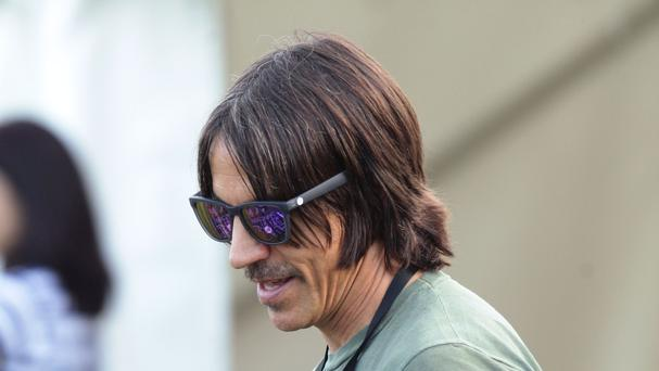 Frontman Anthony Kiedis described the incident as an