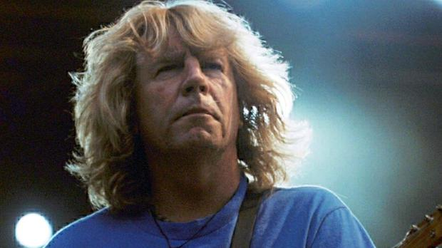 Rick Parfitt from Status Quo has had a previous heart attack.