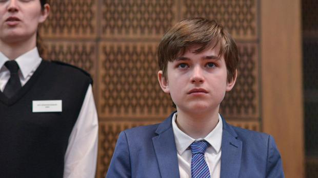 Eliot Carrington, as his character, Bobby Beale, was sentenced to three years in youth detention after pleading guilty to murdering his sister and attacking his stepmother.