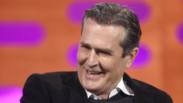 Rupert Everett said he dressed exclusively as a girl when he was a child