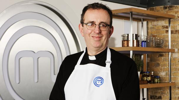 Richard Coles, who is among the eclectic mix of stars set to turn up the heat on Celebrity MasterChef (BBC/PA)