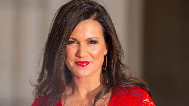 Susanna Reid was responding to a comment after she posted a Tweet about Nigel Farage and Daniel Hannan