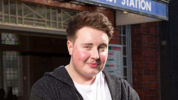Riley Carter Millington plays the transgender character Kyle Slater in EastEnders