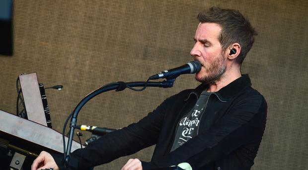 Massive Attack perform at the British Summer Time festival at Hyde Park in London
