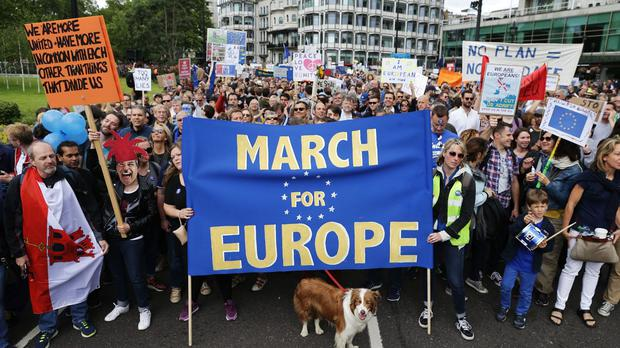Mark Thomas organised the march to address his
