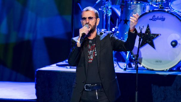 Ringo Starr performs at The Greek Theatre in Los Angeles (John Salangsang/Invision/AP)