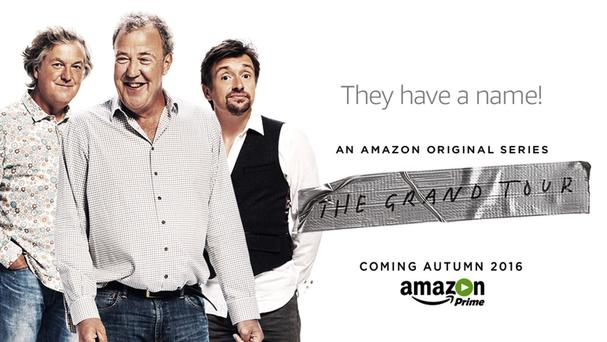 James May, Jeremy Clarkson and Richard Hammond will present The Grand Tour