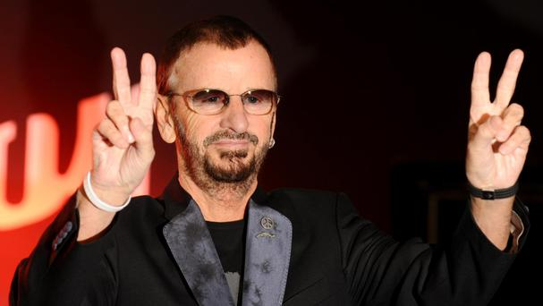 Ringo Starr is celebrating his birthday