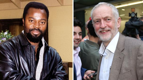 Jeremy Corbyn's answers came in a quickfire question session with author Ben Okri