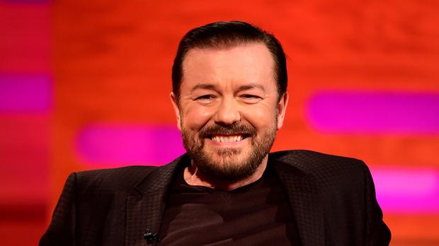 Ricky Gervais will receive the Charlie Chaplin Britannia Award at a ceremony in California in October