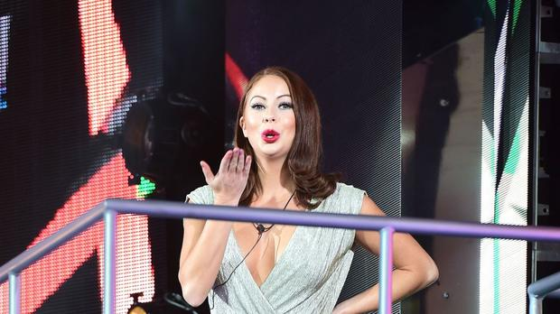 Laura Carter as she became the latest contestant to be evicted from the Big Brother house