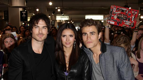 The Vampire Diaries stars Ian Somerhalder, Nina Dobrev and Paul Wesley.