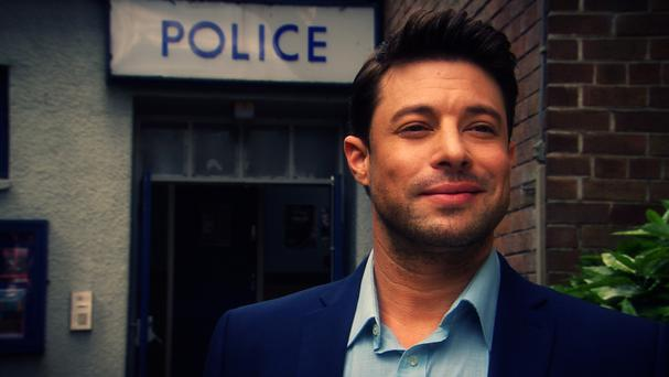 Former Blue singer Duncan James as he makes his Hollyoaks debut in an explosive new trailer (Channel 4/PA)