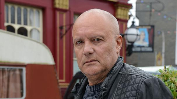 Buster Briggs is leaving Albert Square