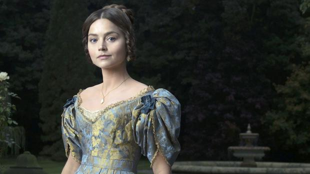 Jenna Coleman plays a young Queen Victoria (ITV/PA)