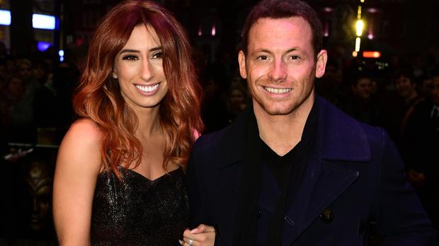 Joe Swash and his girlfriend Stacey Solomon appeared on Loose Women