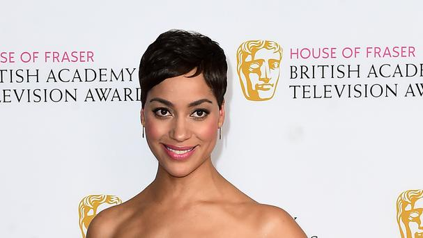 Cush Jumbo attending the House of Fraser Bafta TV Awards 2016