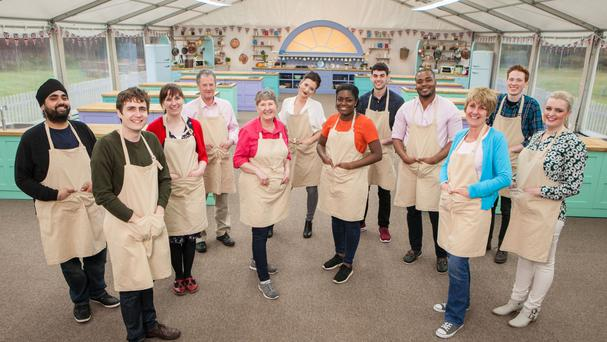 The Great British Bake Off contestants (Mark Bourdillon/BBC/PA)