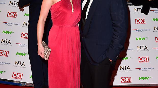 Masterchef couple John Torode and Lisa Faulkner