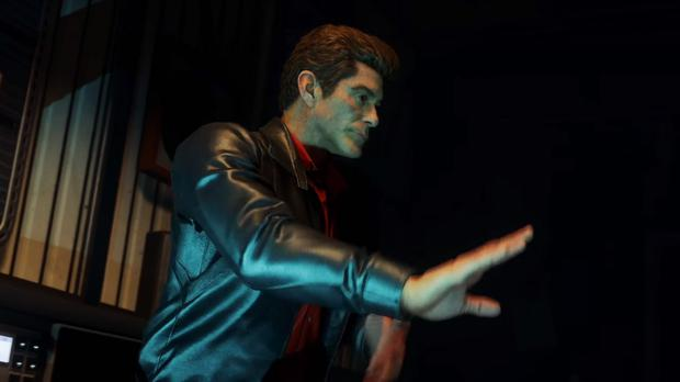 David Hasselhoff in virtual form as a DJ in Call Of Duty: Zombies In Spaceland (Activision/PA)