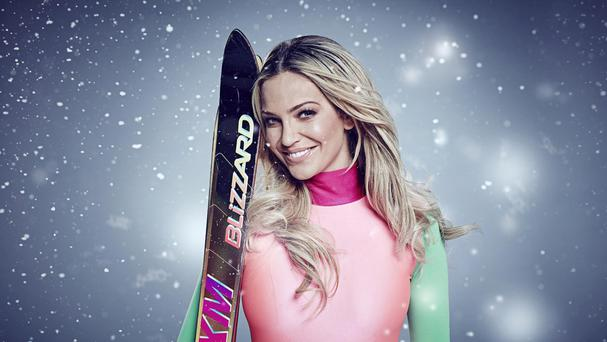 Former Girls Aloud star Sarah Harding on The Jump