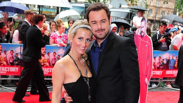 Danny Dyer's fiancee Joanne Mas also criticised Mark Wright