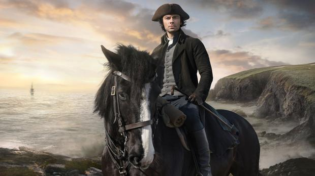 Aidan Turner returns to the role of Cornish mine owner Ross Poldark