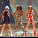 Baby Spice (second left) hopes Posh Spice (far right) will sign up for a Spice Girls reunion