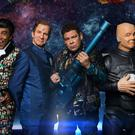 The original cast of Red Dwarf have reunited for the 11th series (UKTV/PA Wire)