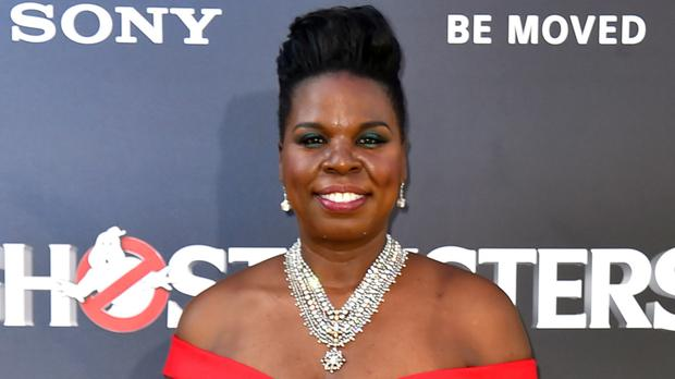 Leslie Jones' website was taken down after an apparent cyber-attack (Invision/AP)