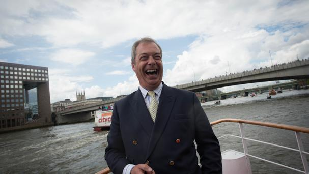 Former Ukip leader Nigel Farage was delighted with the result of the EU referendum