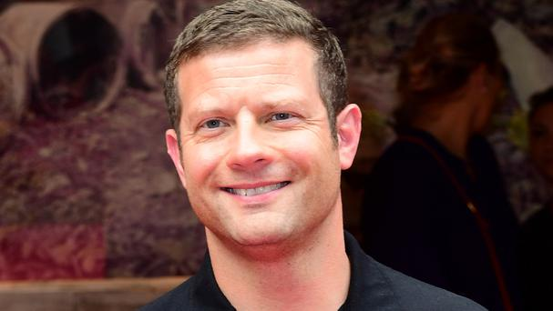 Dermot O'Leary said he feels energised, having had a year off