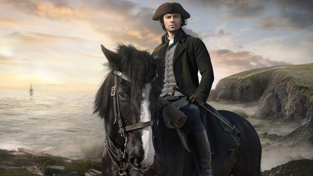 Poldark and its dishy star Aidan Turner will returning for a new series (BBC/PA)