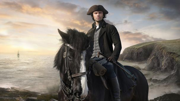 Poldark and its star Aidan Turner will returning for a new series (BBC/PA)