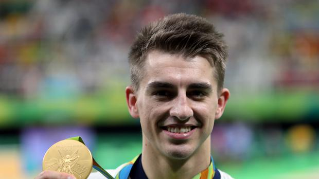 Gymnast Max Whitlock won two gold medals at the Rio Olympic Games