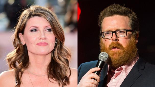 Sharon Horgan and Frankie Boyle delivered their verdicts on television
