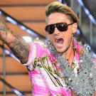 Stephen Bear leaves the Celebrity Big Brother house as winner