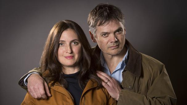 Helen Titchener (Louiza Patikas) and husband Rob (Timothy Watson) (PA/BBC)