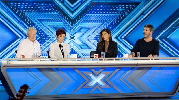 The X Factor's 2016 judging panel - Louis Walsh, Sharon Osbourne, Nicole Scherzinger and Simon Cowell (Syco/Thames TV/ITV/PA)