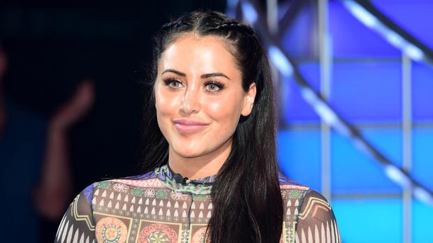 Marnie Simpson flashed her breasts during an episode of Celebrity Big Brother