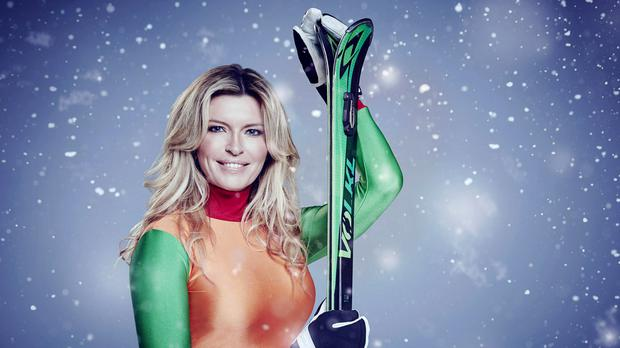 Tina Hobley was one of several celebrities forced to pull out of the winter sports programme