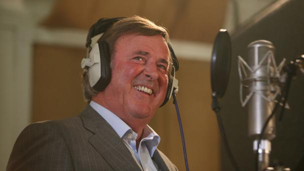 Sir Terry Wogan, who died in January after a brief battle with cancer