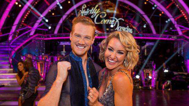 Greg Rutherford and Natalie Lowe on the new series of Strictly Come Dancing