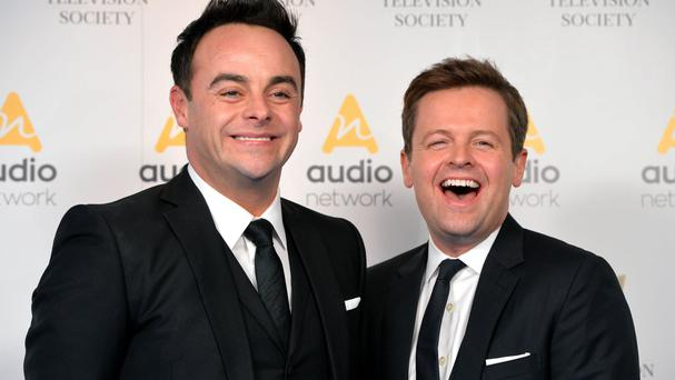 Anthony McPartlin (left) and Declan Donnelly aka Ant and Dec are the biggest stars on ITV.