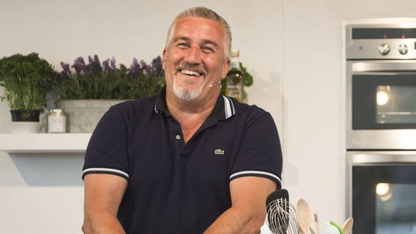 Paul Hollywood spluttered after trying a shot of strong Cypriot liquor Zivania