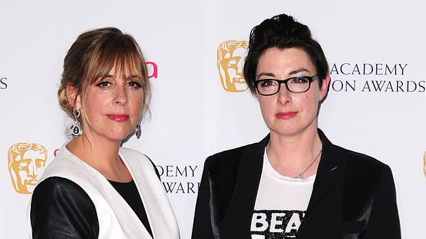 The Breat British Bake Off presenters Mel Giedroyc (left) and Sue Perkins.