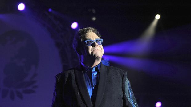 Sir Elton John is one of many stars taking part in the campaign.
